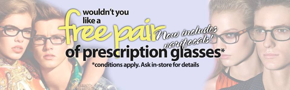 Free Prescription Glasses Offers