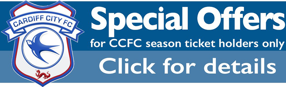 Cardiff City FC Season Ticket Holder Offers