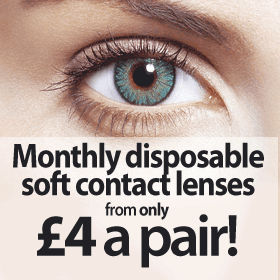 Monthly Soft Contact Lenses