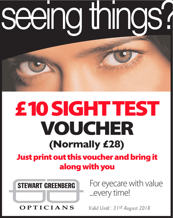 Private Sight Test Special Offer