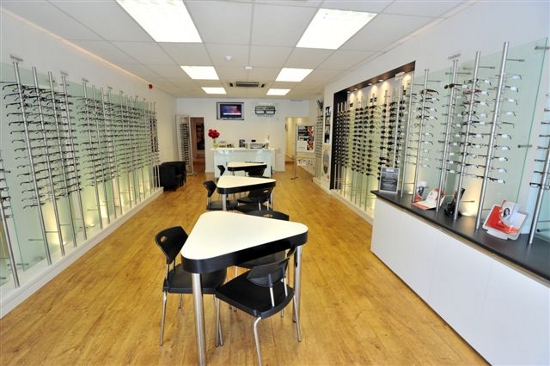 Stewart Greenberg Opticians in-store photo